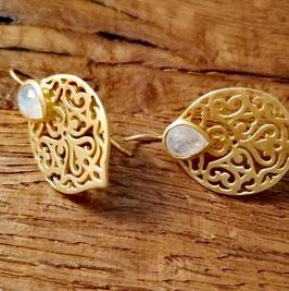 Ohrringe gelbgold (auch in silber erhältlich)