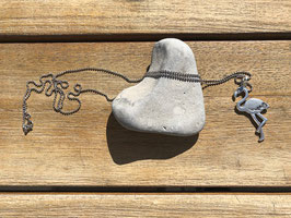 Halskette mit Flamingoanhänger
