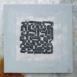 Labyrinth 02 - Druck auf Leinwand