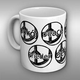 Kaffeebecher in drei Designs