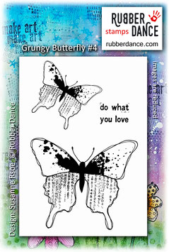 Grungy Butterfly #4