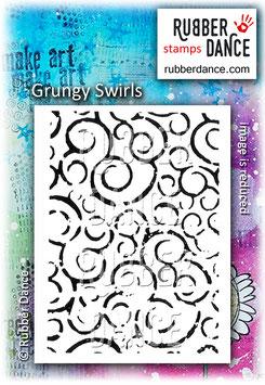 Grungy Swirls