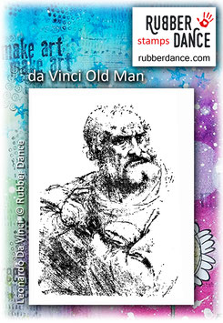 Da Vinci Old Man