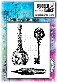 3 Vintage Stamps