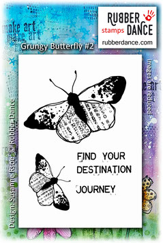 Grungy Butterfly #2