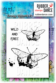 Grungy Butterfly #1
