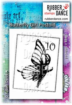 Butterfly Girl Postoid