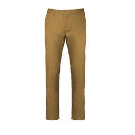 Pantalón Hombre Chino Color Camel. Tallas: 38 a 54