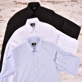 Camisa Caballero modelo Torino manga larga. Slim Fit. Tallas desde 34/35 hasta 52/53