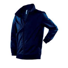 Cazadora Cortavientos Unisex sin forro, color azul marino. Tallas S a 4XL