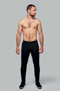 Pantalón Unisex Entrenamiento Color Negro. Talla: XS a 3XL