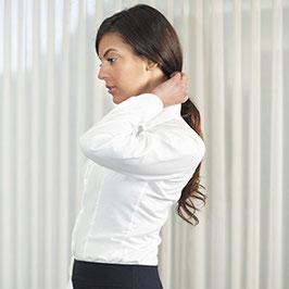 Camisa Señora entallada manga larga sin bolsillo. Tallas desde la 36 hasta la 56
