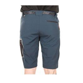 Pantalón Bermuda Hombre Trekking nylon/elástico Color Azul