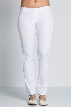 Pantalón especial sector servicios para Mujer, Juvenil. Color Blanco.