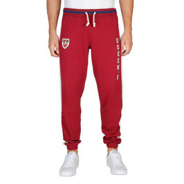 PANTALON CHANDAL HOMBRE OXFORD UNIVERISTY MODELO QUEENS COLOR ROJO