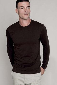 Camiseta Hombre manga larga y cuello redondo