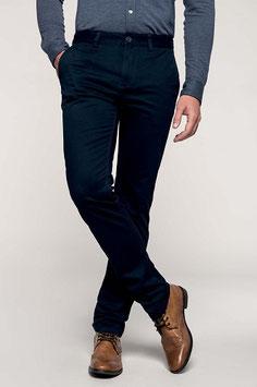 Pantalón Hombre Chino Color Negro. Tallas: 38 a 54