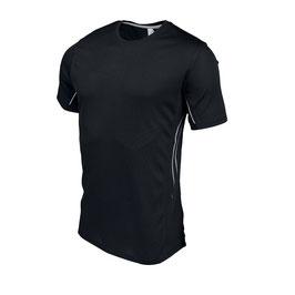 Camiseta Hombre Deportiva Toop Cool. Color Negro. Tallas: S a 4XL