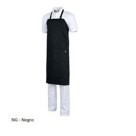 DELANTAL M502 NEGRO MEDIDA 90x95cm
