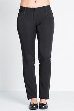 Pantalón mujer especial para sector servicios, Juvenil y de color Negro.