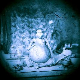 Ganesha. Royal case of elephantiasis