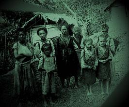 Hmong villagers. Amphoe phu sang phayao province