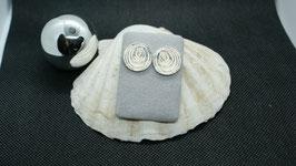 Spiralohrstecker silber K 1039