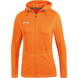 RUNNING SET DAMEN SUMMER NEONORANGE