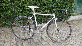 weißes Rennrad