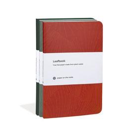Paper on the rocks - Leafbook