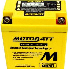 Accu motobatt MB3U