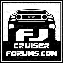 FJ Cruiser Forum Black Square (PROMO)