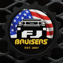 FJ Bruisers Club - Logo Belongs To The Bruisers