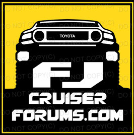 FJ Cruiser Forum Yellow Sqaure