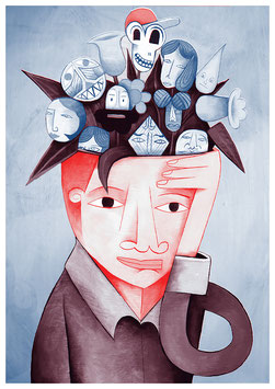 """the garden of thought"" - Jim Avignon"