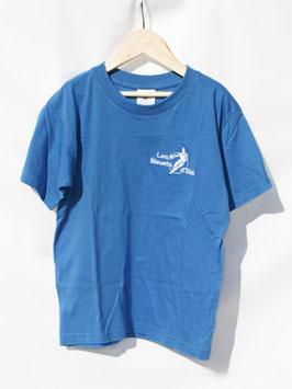 T-shirt Uni Bleu Azur