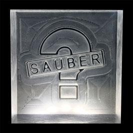 """Seifenstempel """"Sauber ?"""""""