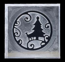 """Seifenstempel """"Weihnachtskugel Baum"""""""