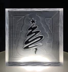 """Seifenstempel """"Weihnachtsbaum"""" geschwungen"""