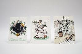 Kartenset aus Samenpapier - waldshop