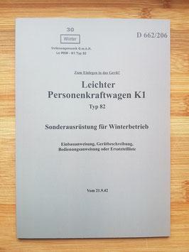 """Heeresdienstvorschrift 662/206 """"Winterbetrieb"""""""