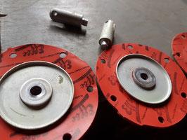 Hilfspumpe und Kraftstoffhauptpumpe Membrane NOS