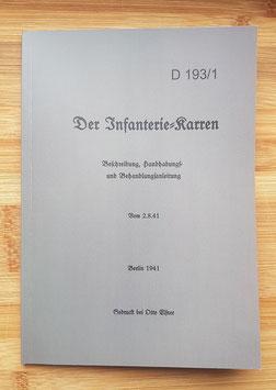 IF8 Betriebsanleitung, Heeresdienstvorschrift D193/1
