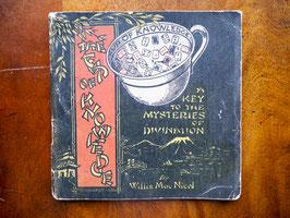 300. トランプ柄占いカップ「The Cup of Knowledge」のオリジナル説明書(英1924)