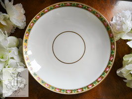 004 ミントン/ローズ・オン・ゴールド 24.2cm大皿(英1800年代)