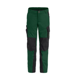 Arbeitshose Kinder - Farbe: grün-schwarz
