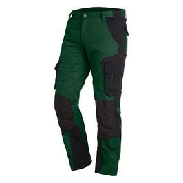 Arbeitshose Herren - Farbe: grün-schwarz