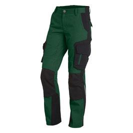 Arbeitshose Damen - Farbe: grün-schwarz