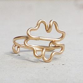 KLEEBLATT Ring