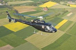 30 Min. Frankfurt Hubschrauberflug in der eigenen Gruppe 3 Personen